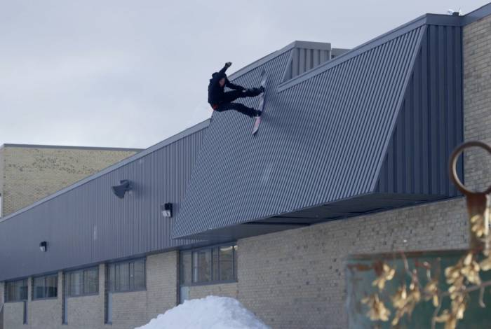 Urban Snowboarding: The McMorris Brothers Shred Abroad