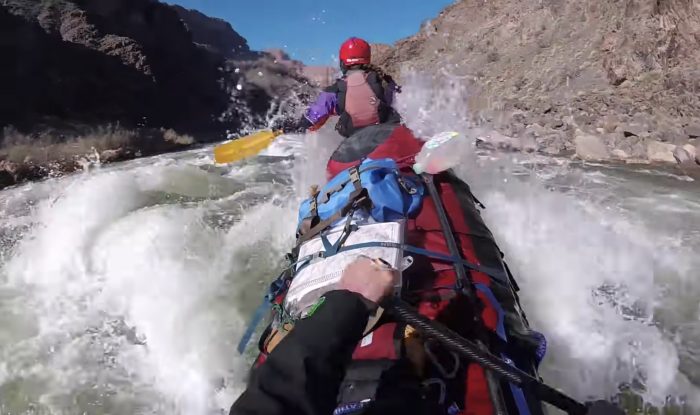 Watch Crazy Canadians Paddle the Grand Canyon in Tandem Canoes
