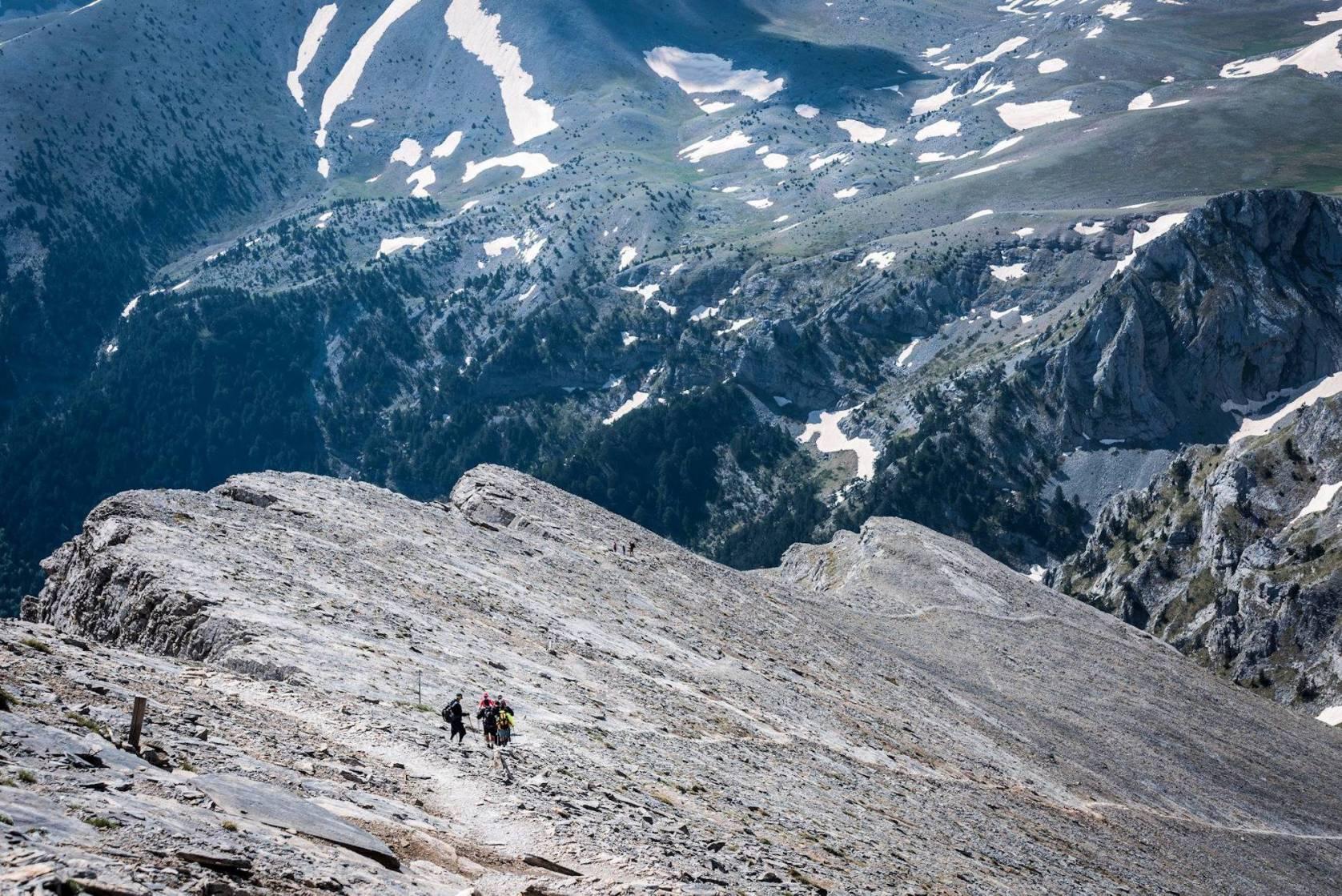 greece trekking