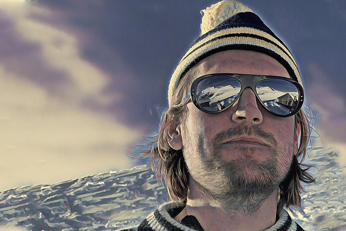 Vallon ski aviator sunglasses