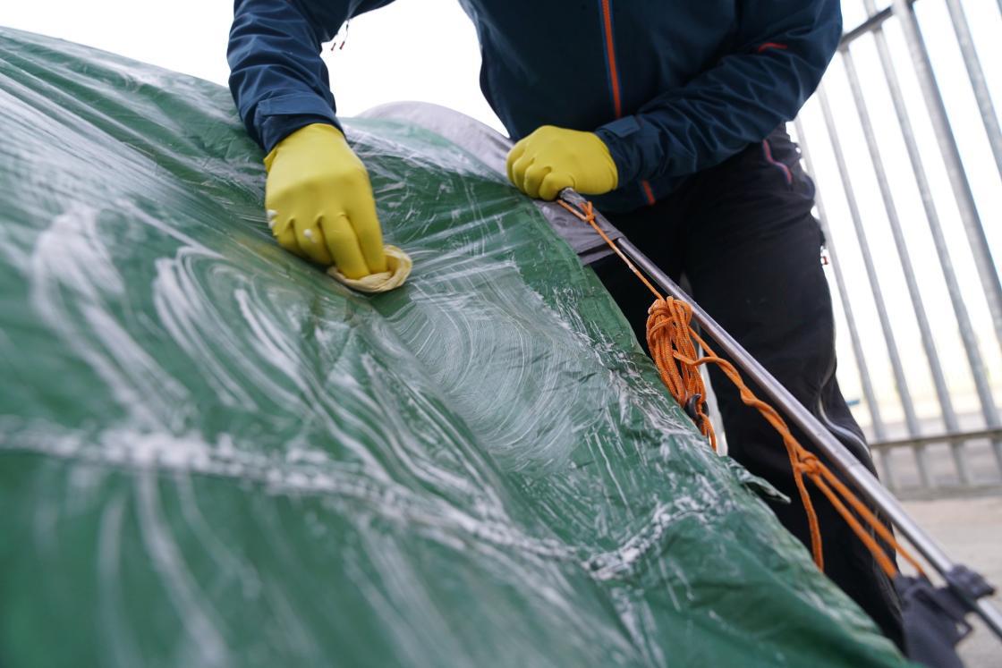 waterproofing tent rainfly
