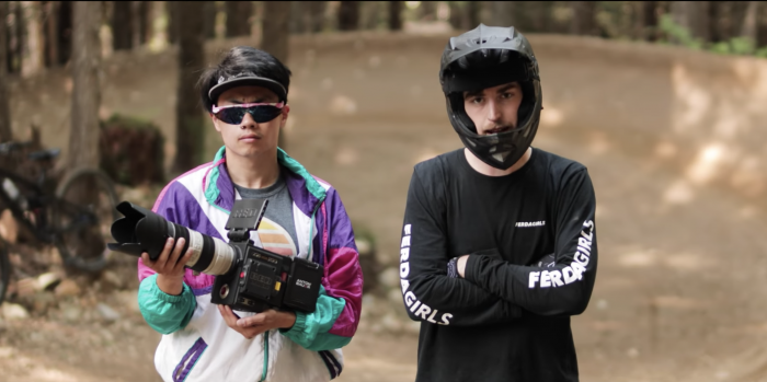 Mountain Biker's Epic Rap: 'I Only Ride Park'