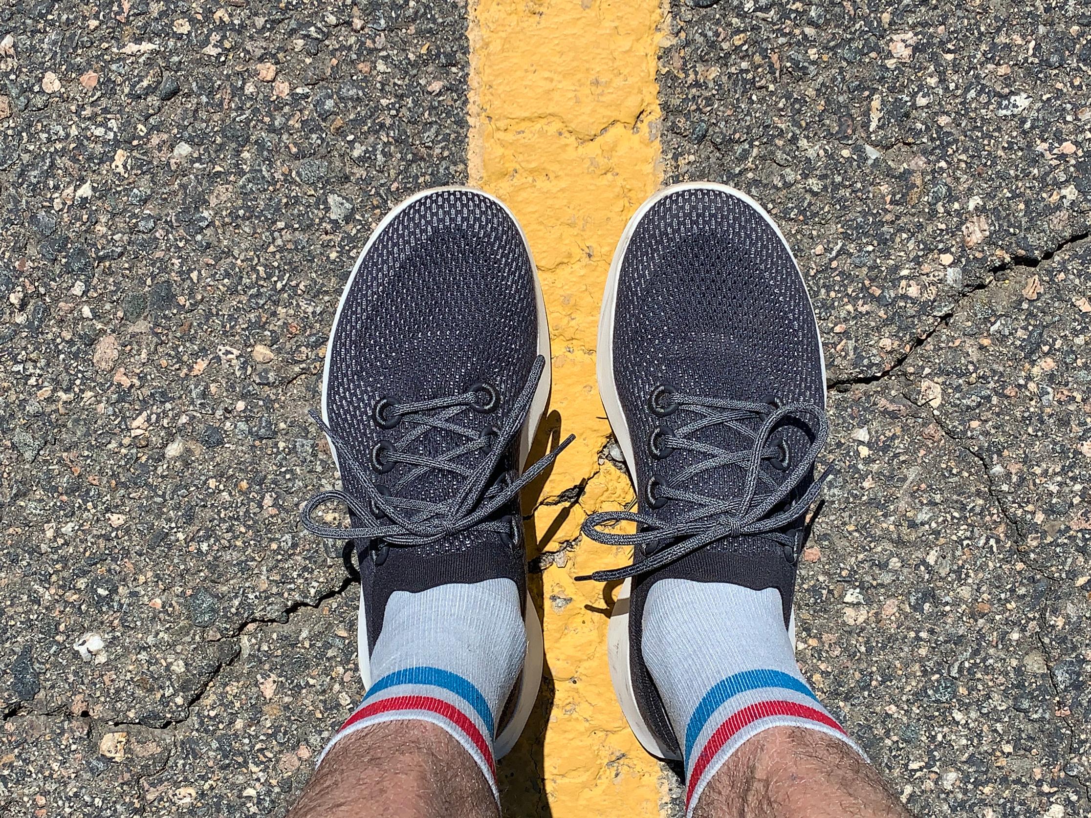 Running Shoe: Knit 'Dasher' Review