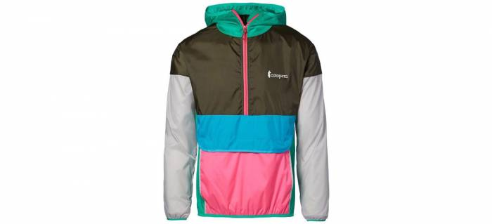 Cotopaxi Tech Half Zip Windbreaker