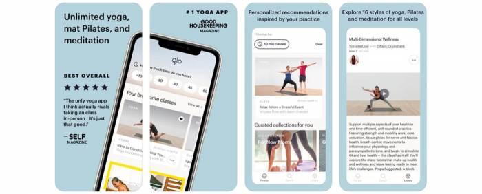Glo Yoga App