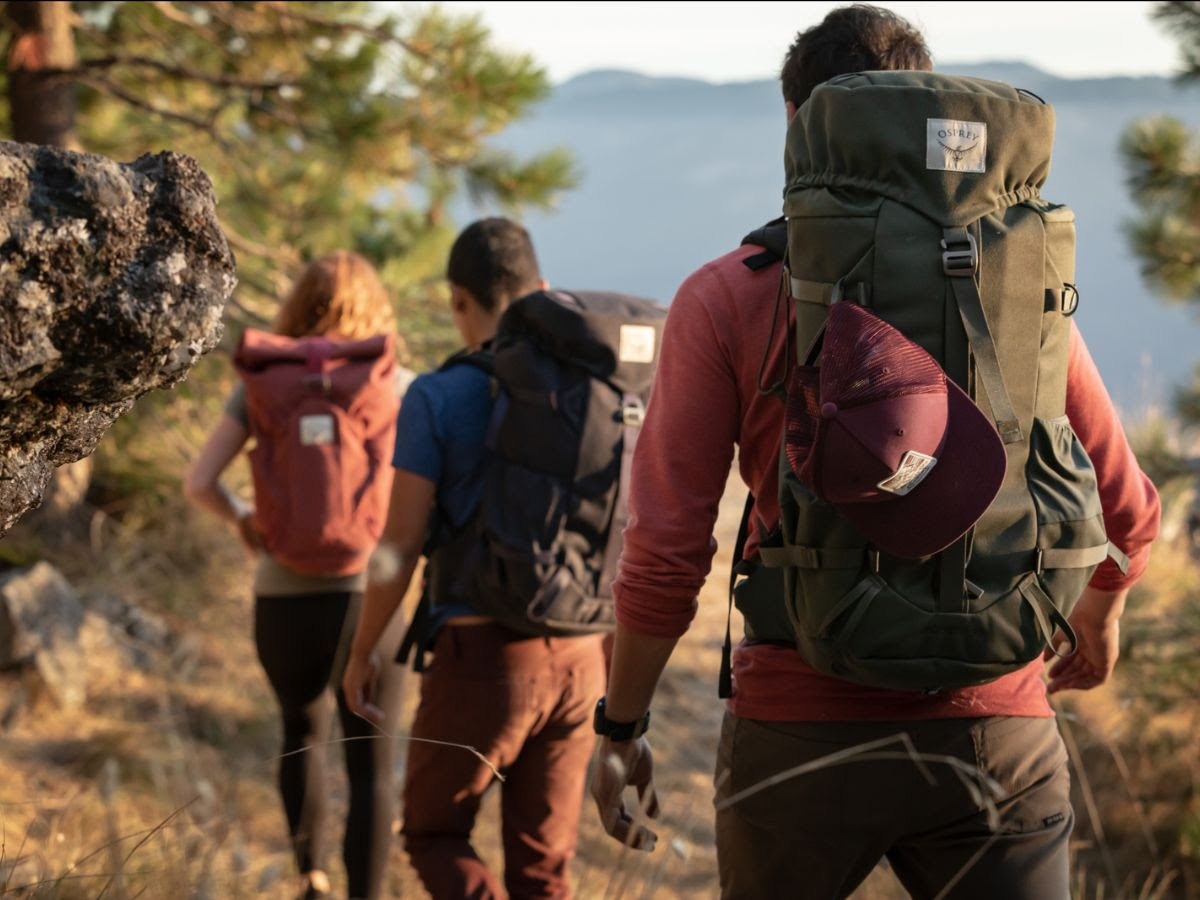 Hiking and Backpacking using the Osprey Archeon Backpack