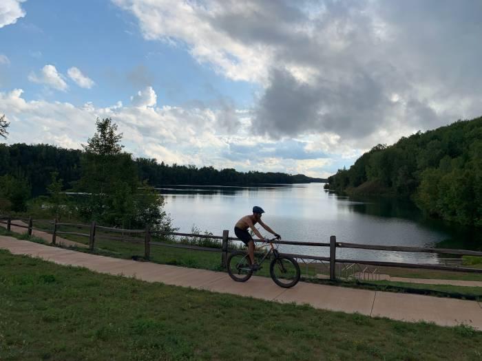 Biking in Minnesota