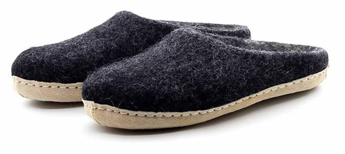 Nootkas Wool Slipper