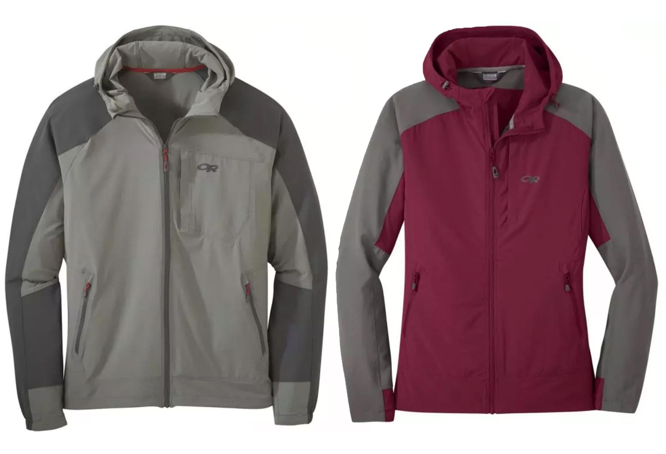 OR hooded ferrosi jacket