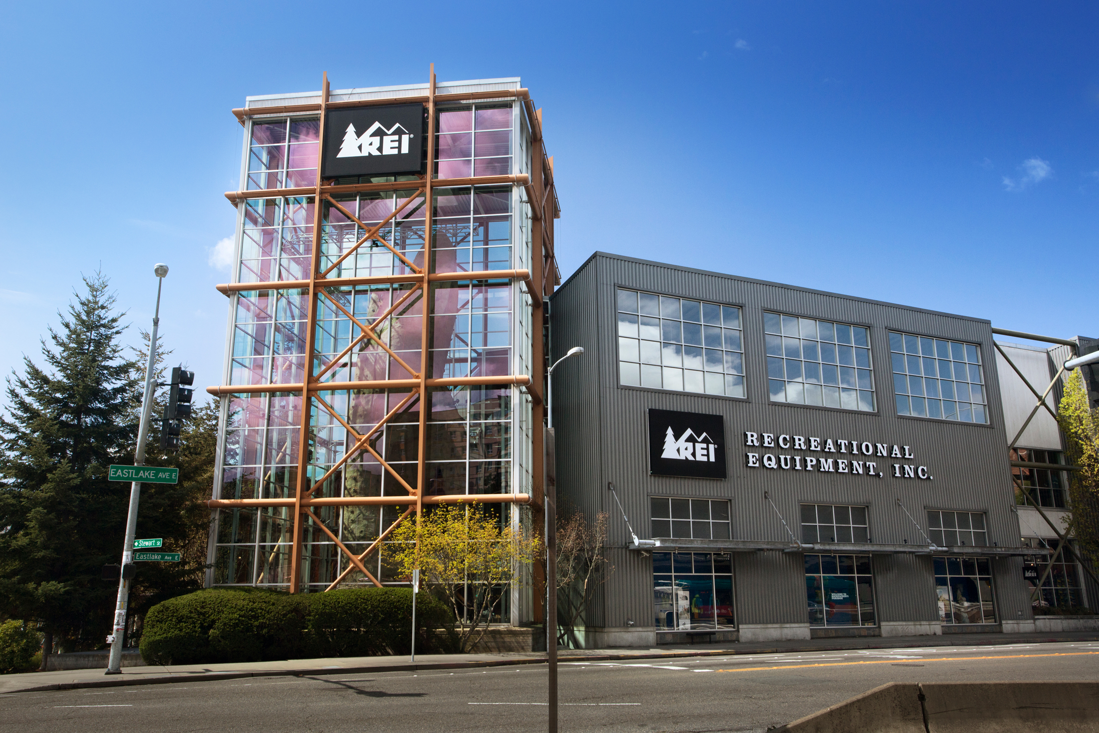 REI Seattle flagship store