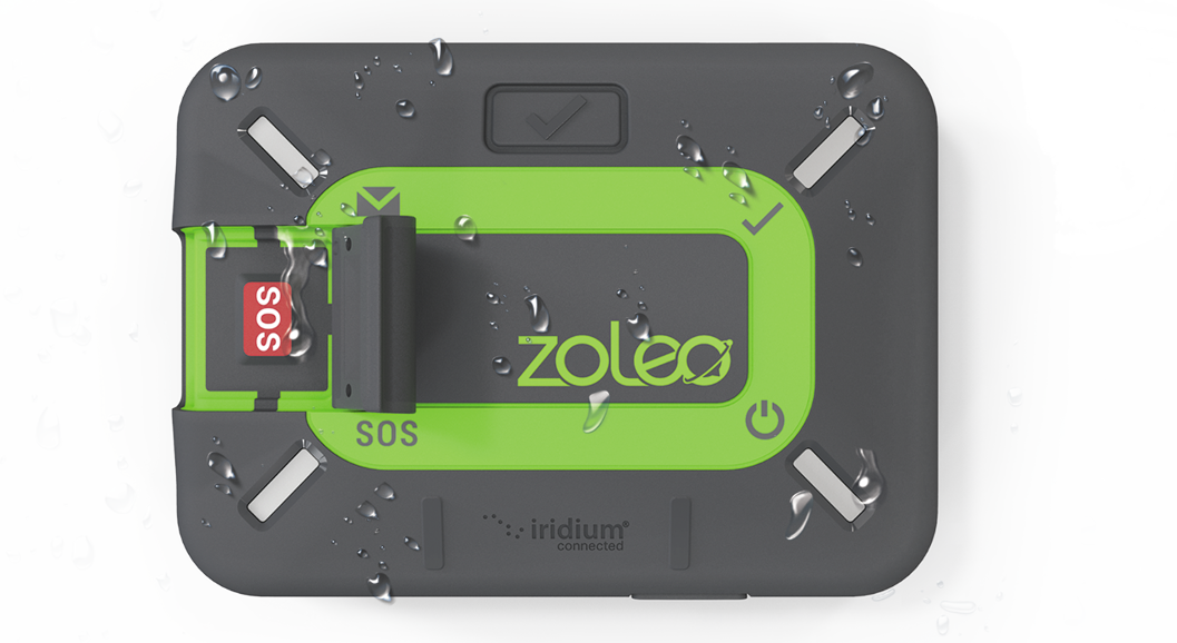 ZOLEO Satellite Communicator with Water Drops