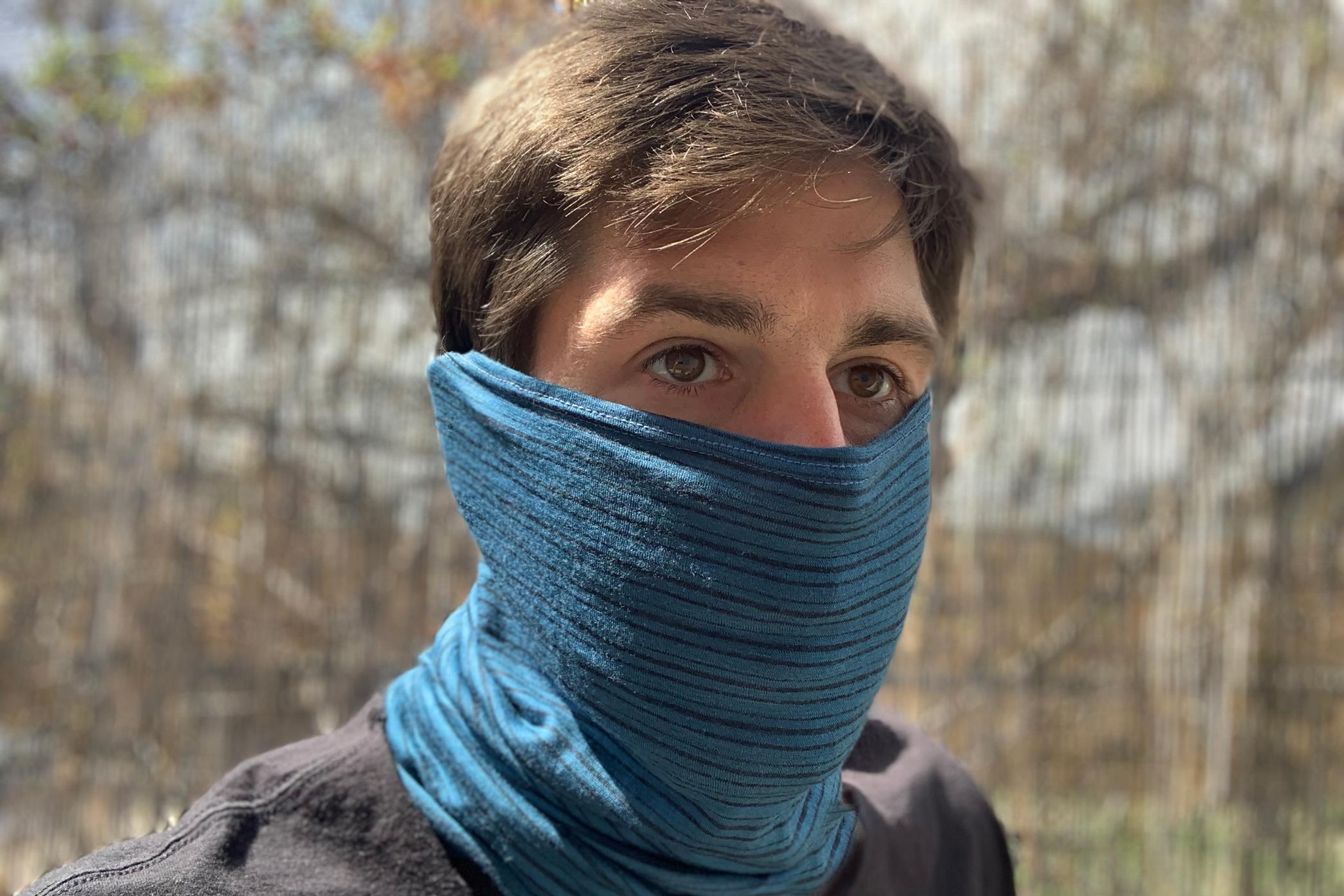 buff lightweight merino mask