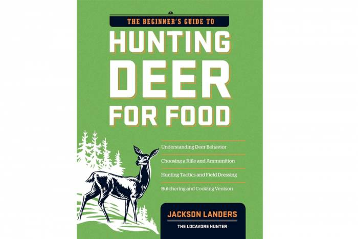 'The Beginner's Guide to Hunting Deer for Food' by Jackson Landers