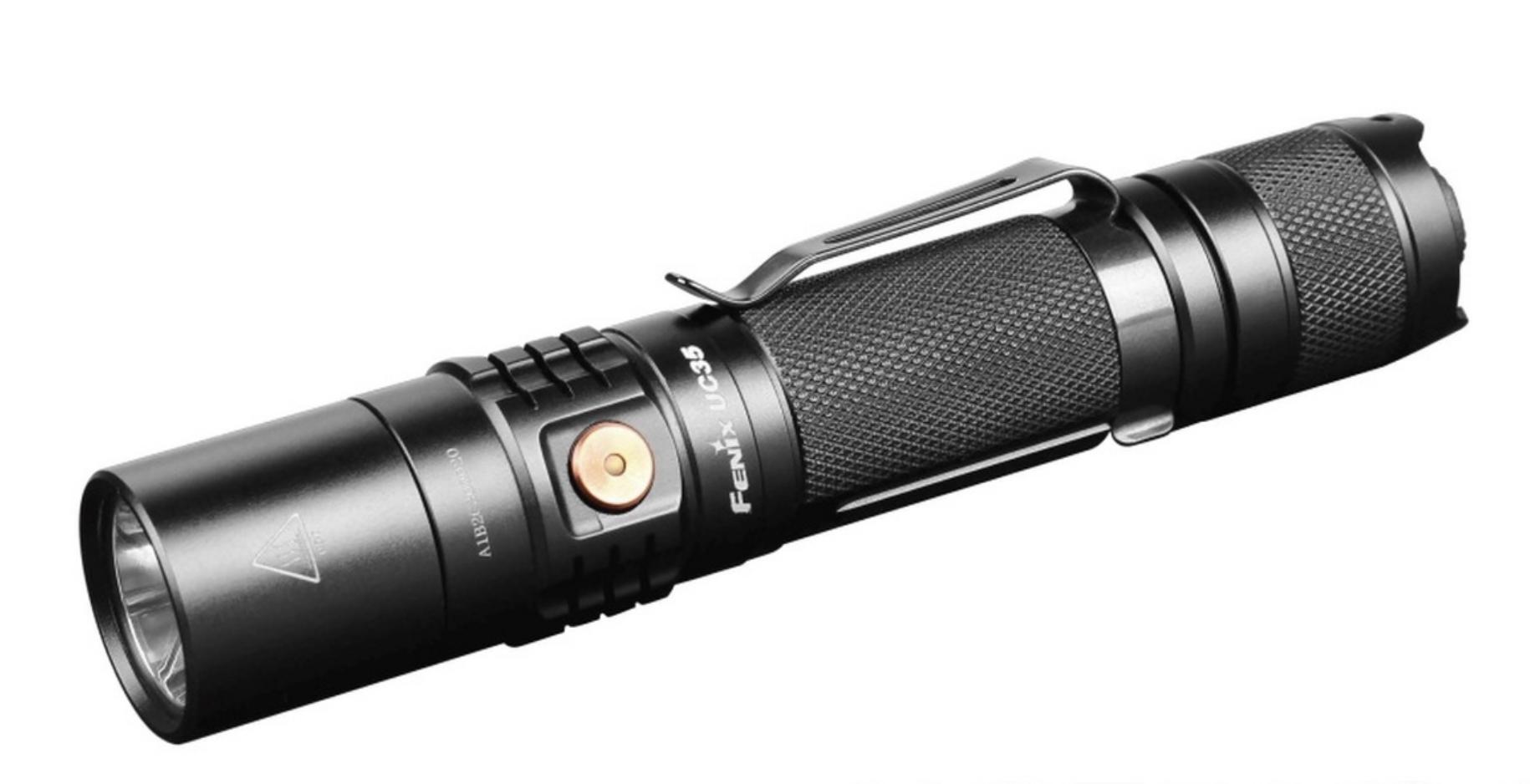 fenix uc35 led flashlight