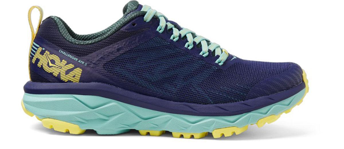 hoka one one atr challenger trail running shoe for women
