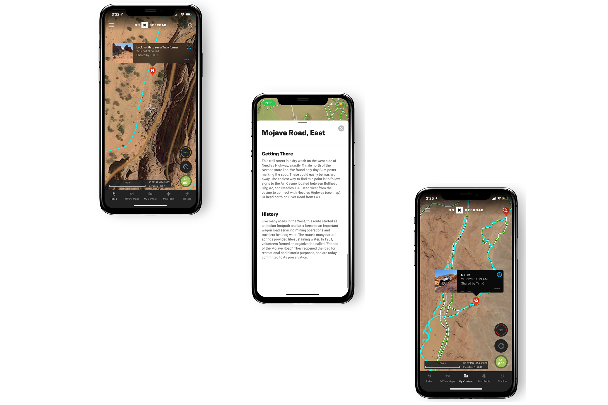 onX Offroad maps