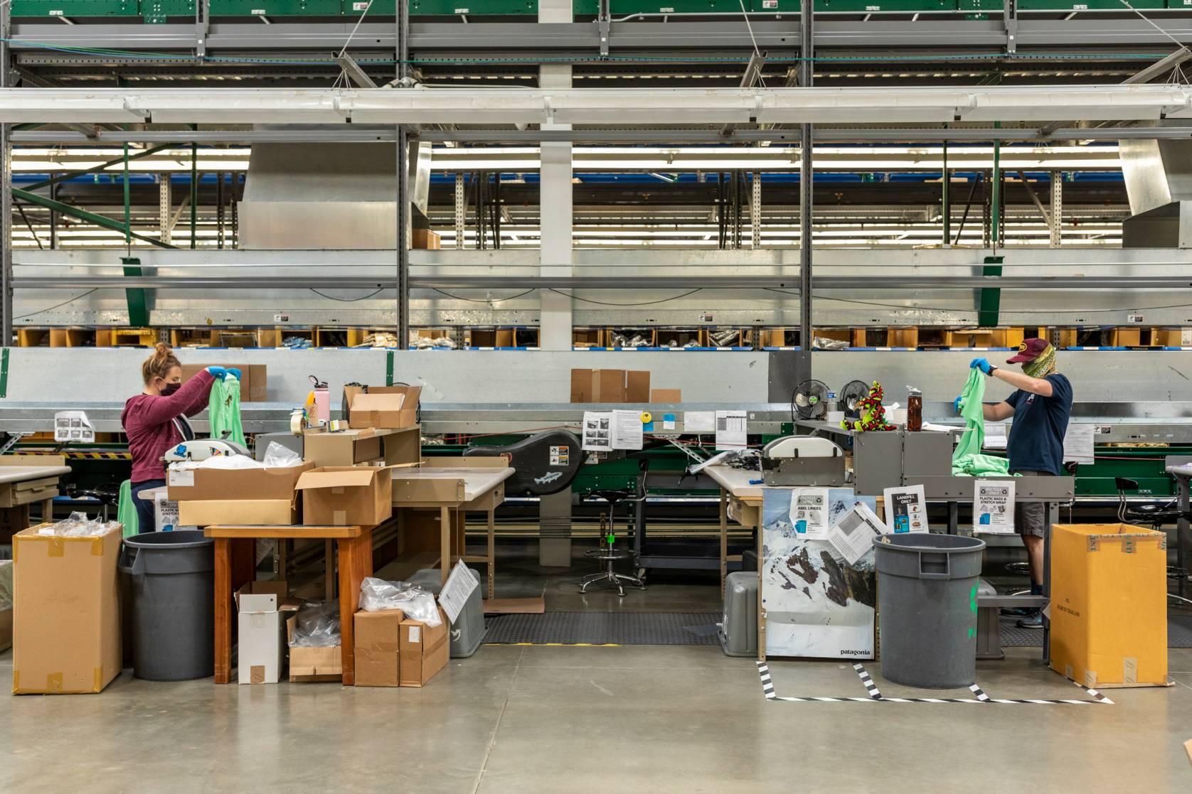 Patagonia Reno warehouse