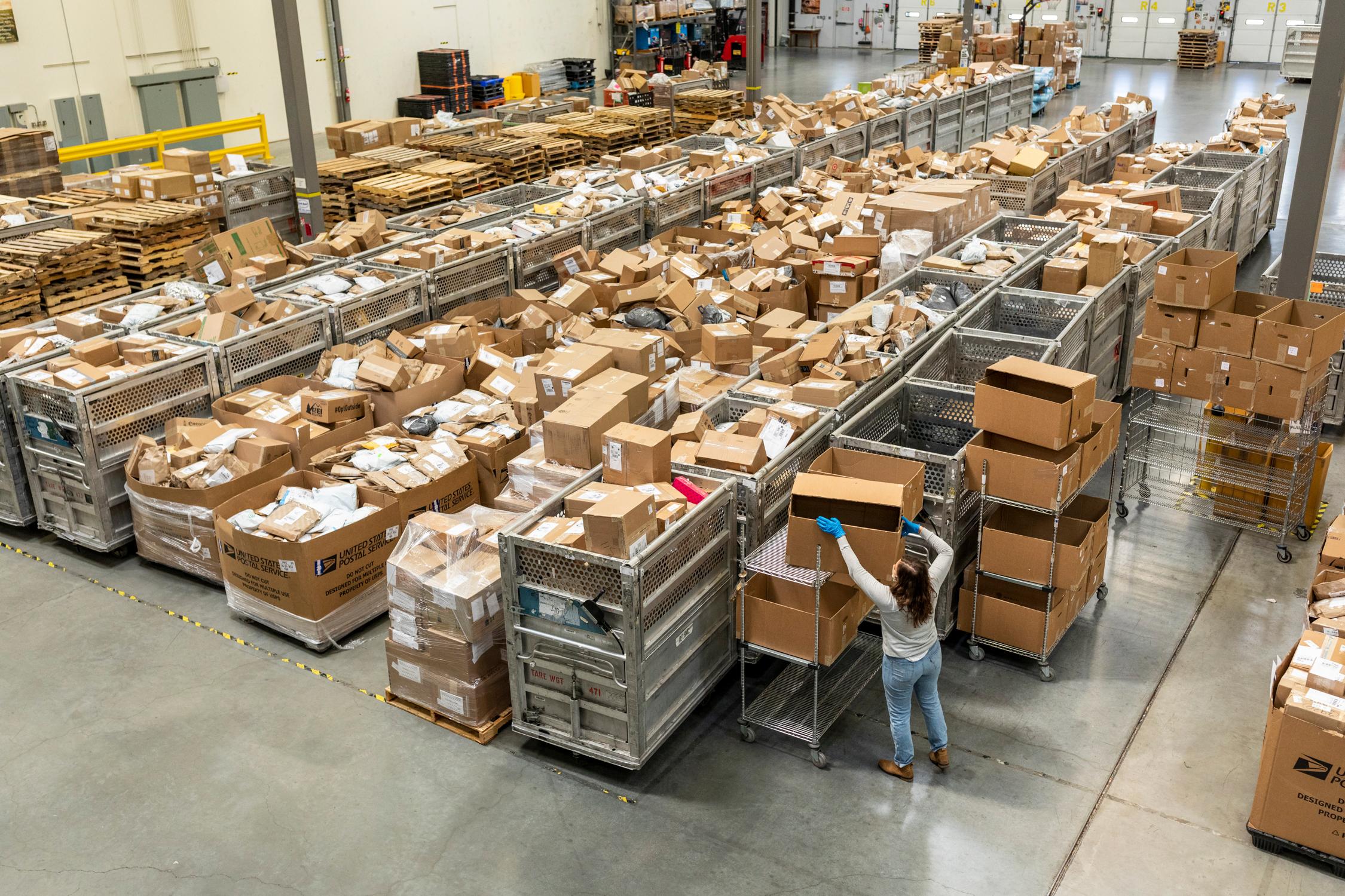 Patagonia Reno Warehouse empty