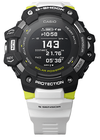 G-SHOCK to the Heart: A Fitness Watch Gets Rugged
