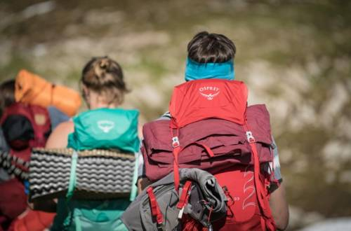 Hikers with Osprey Backpacks
