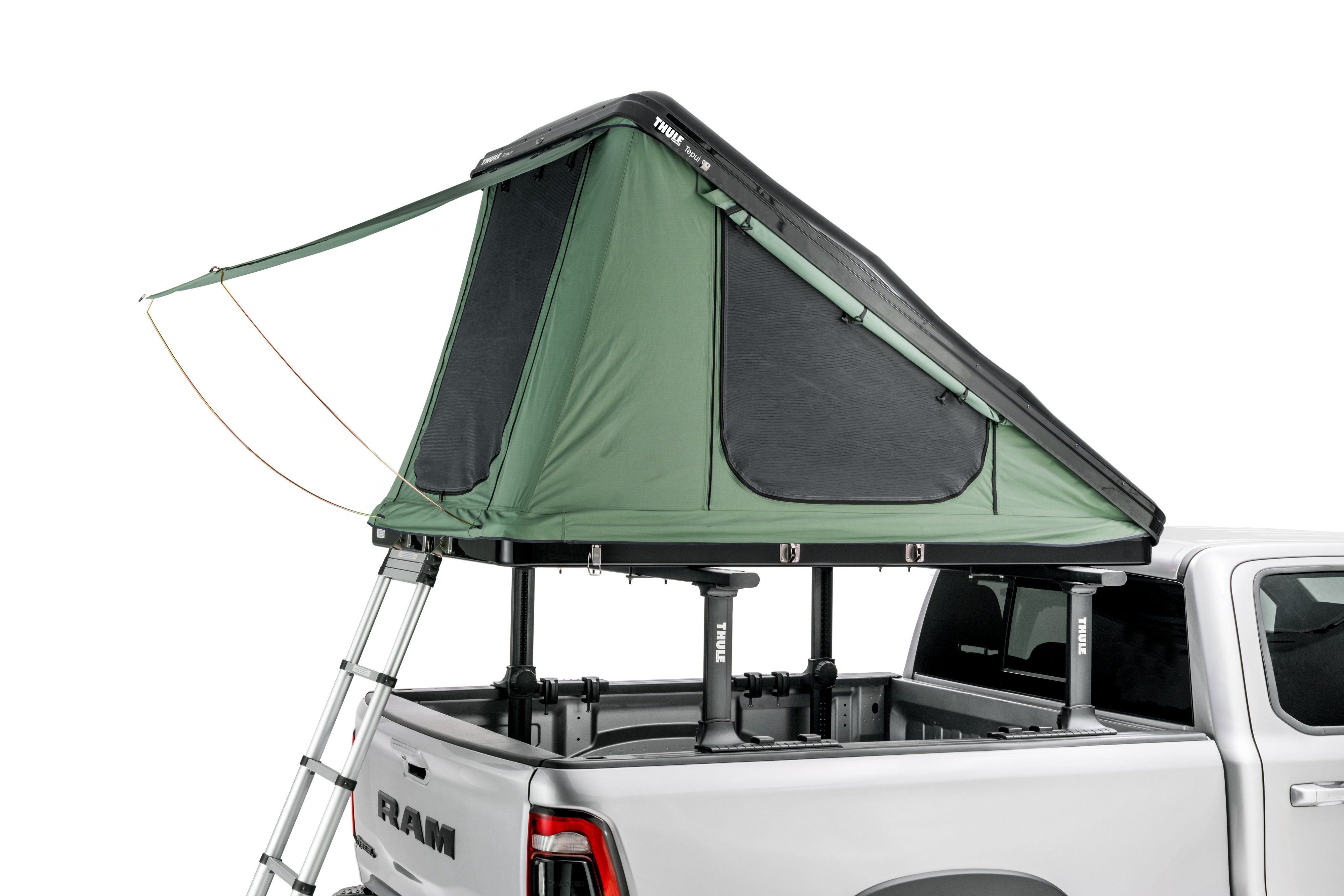 Thule Tepui Hybox Wedge popped up close