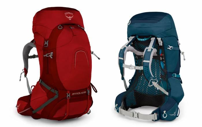 Osprey Atmos AG and Aura AG Backpacks on Sale