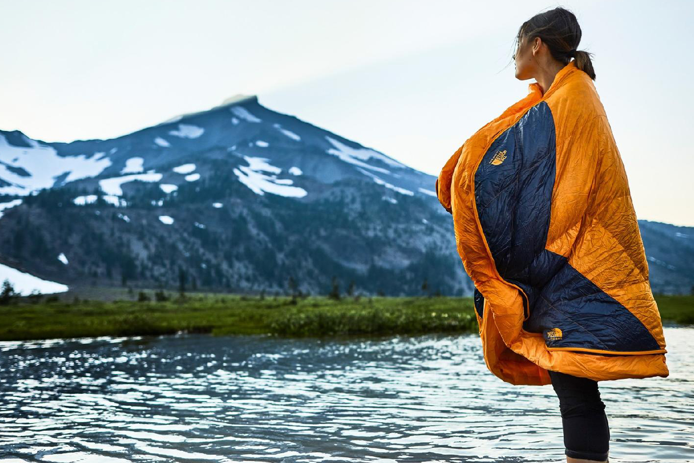 The North Face The One sleeping bag shawl