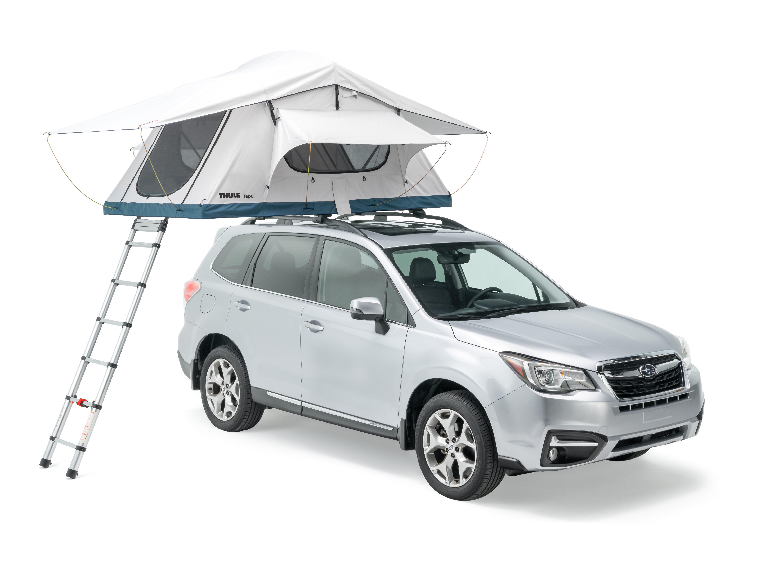 Thule Tepui Low Pro 3 RTT on Subaru