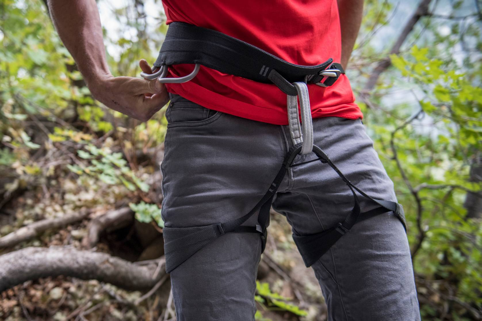 Black Diamond Solution Guide trad climbing harness