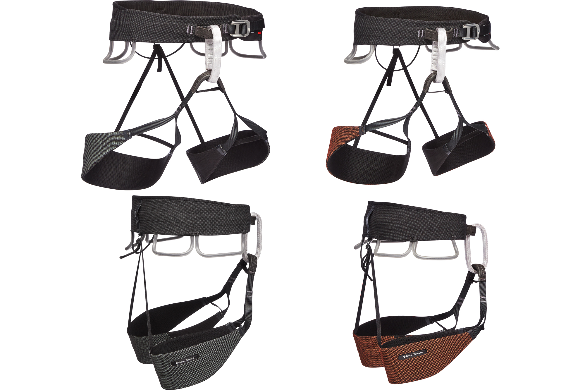 Black Diamond Solution Guide trad climbing harness mens and womens