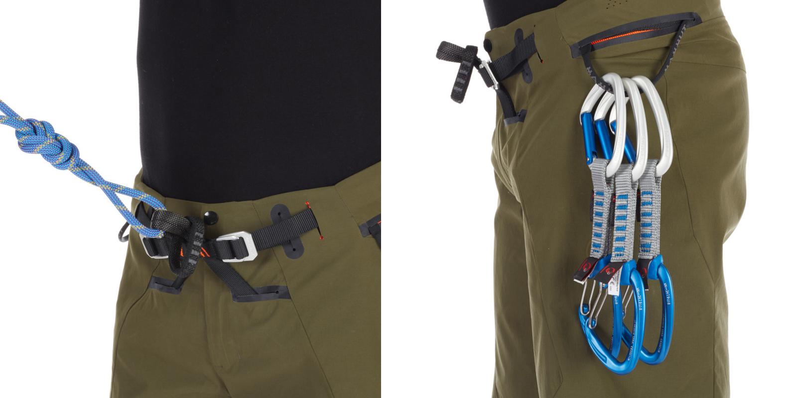 Mammut Realization 2.0 climbing shorts