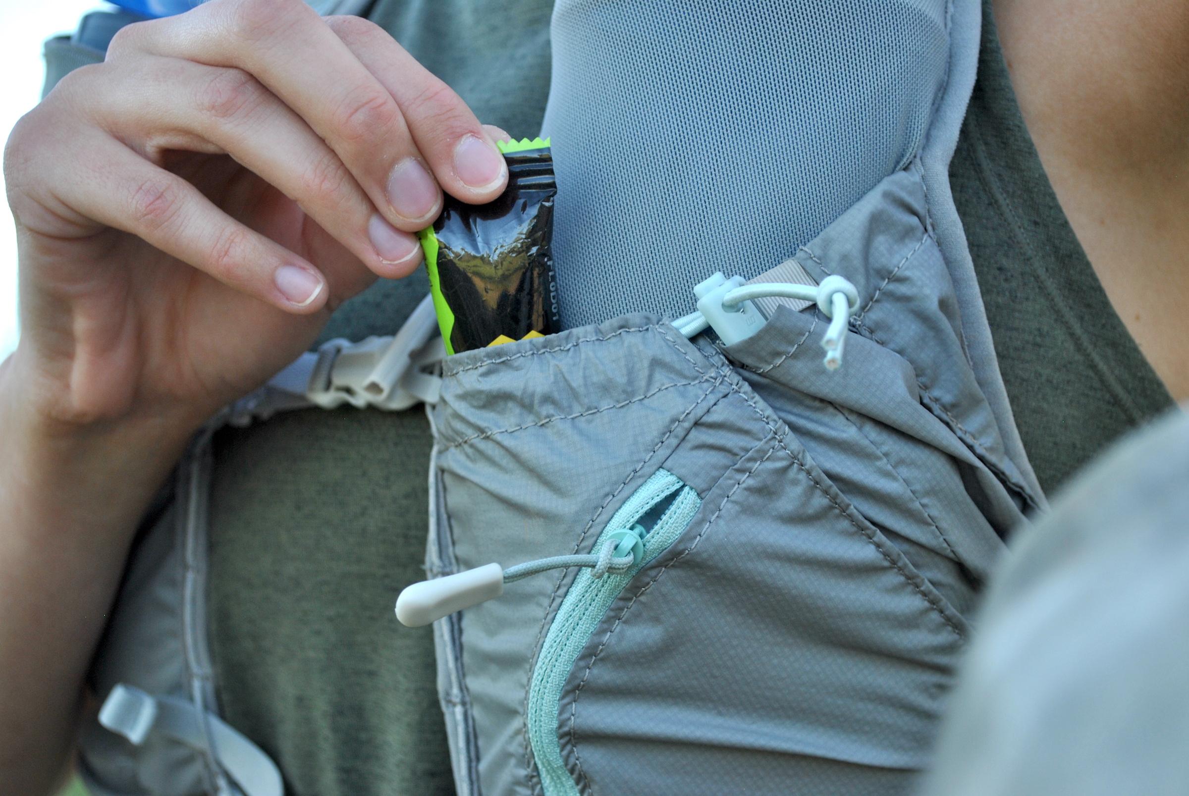 CamelBak Zephyr vest closeup pouch