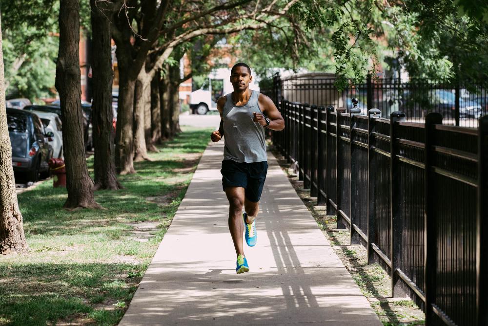 Strava Chicago_Run lifestyle photo