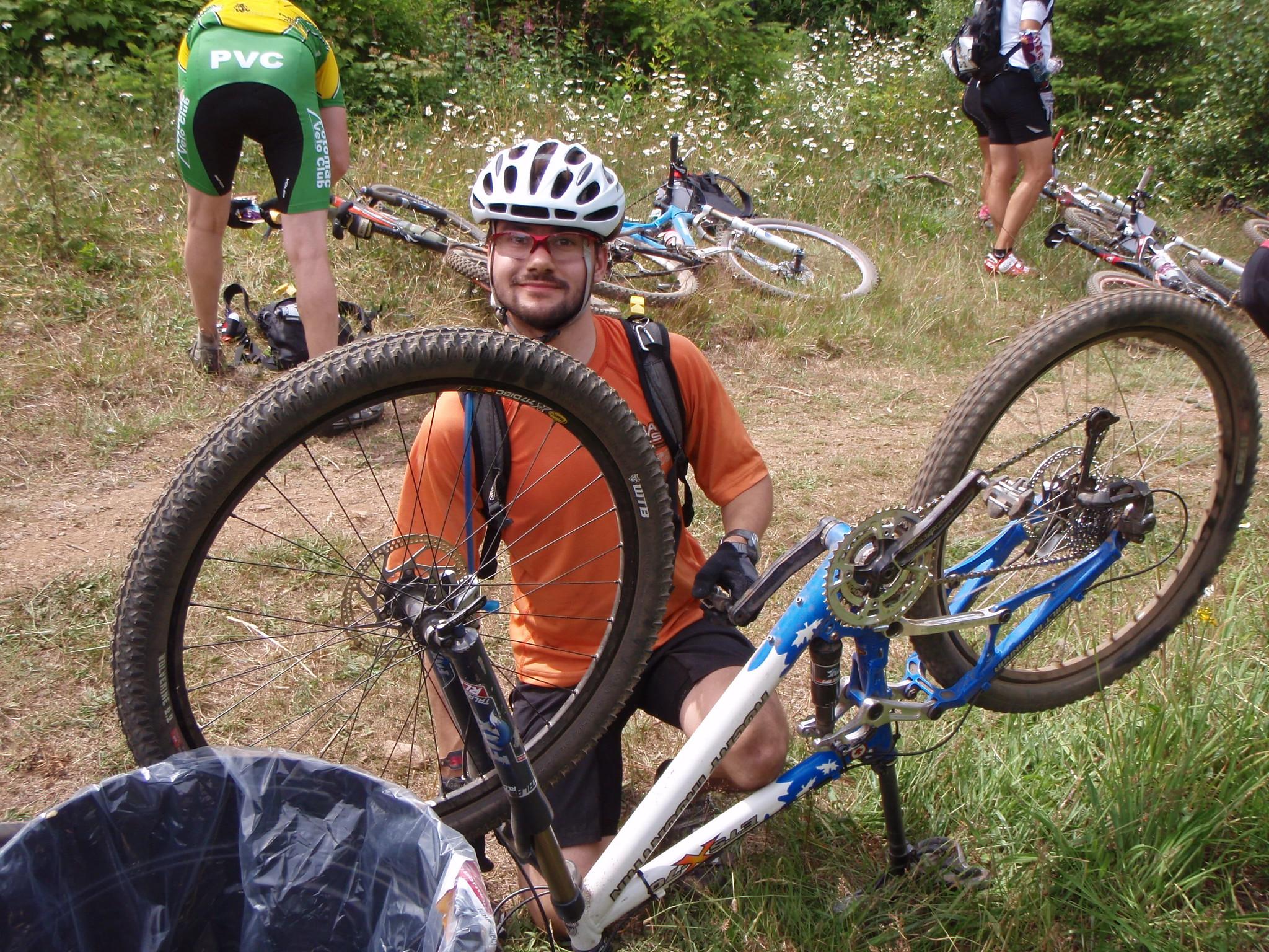 fix bike flat