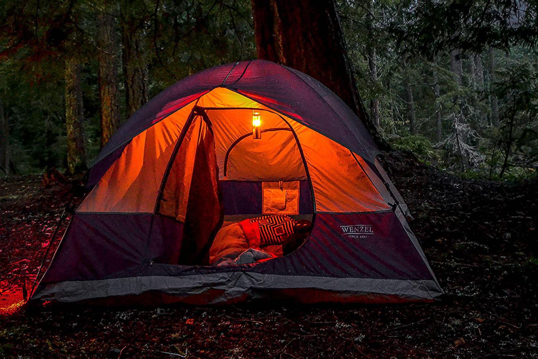 uco camping candle lantern