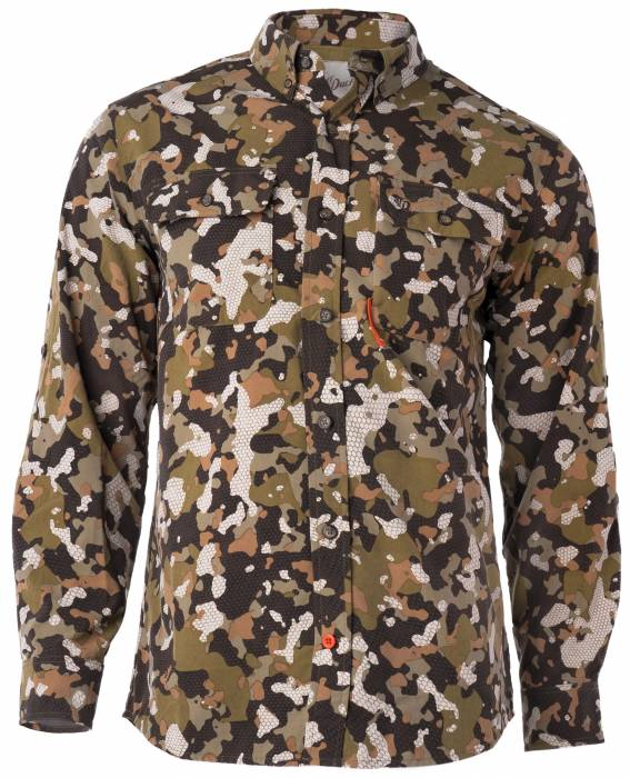 Duck Camp Early Season Wetland Camo hunting shirt