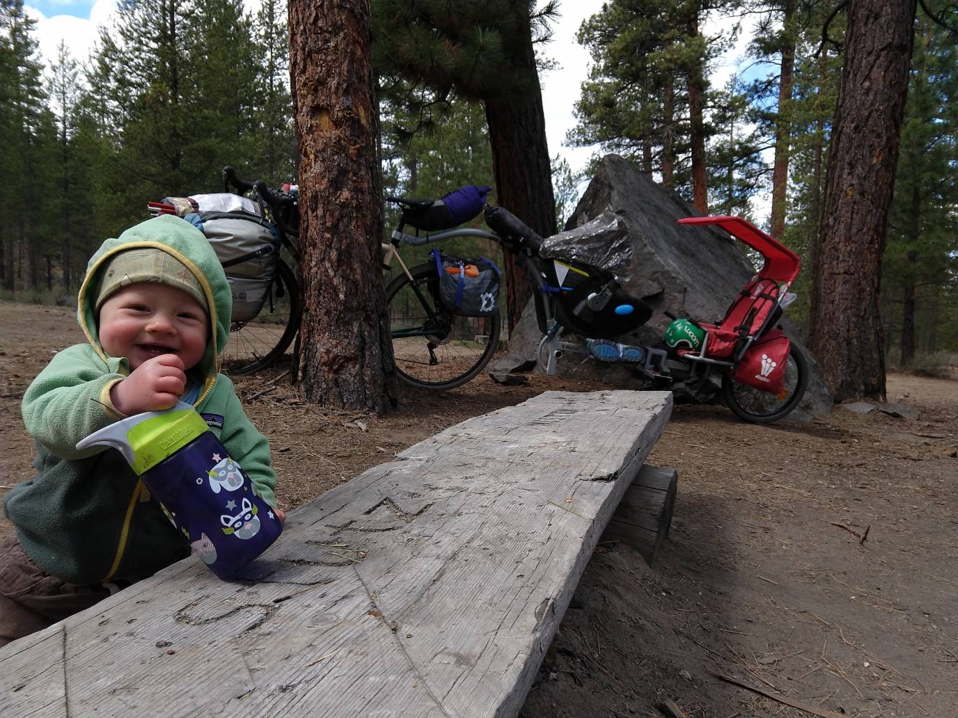 Bikepacking with Kids - Family Camping