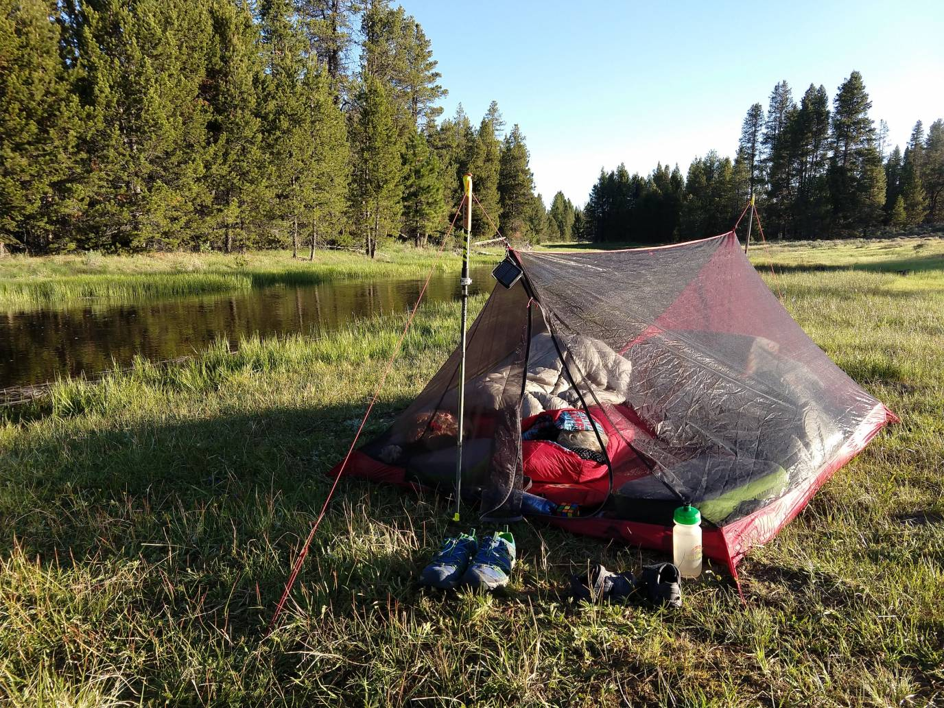 Bikepacking with Kids _ Ultralight Tent