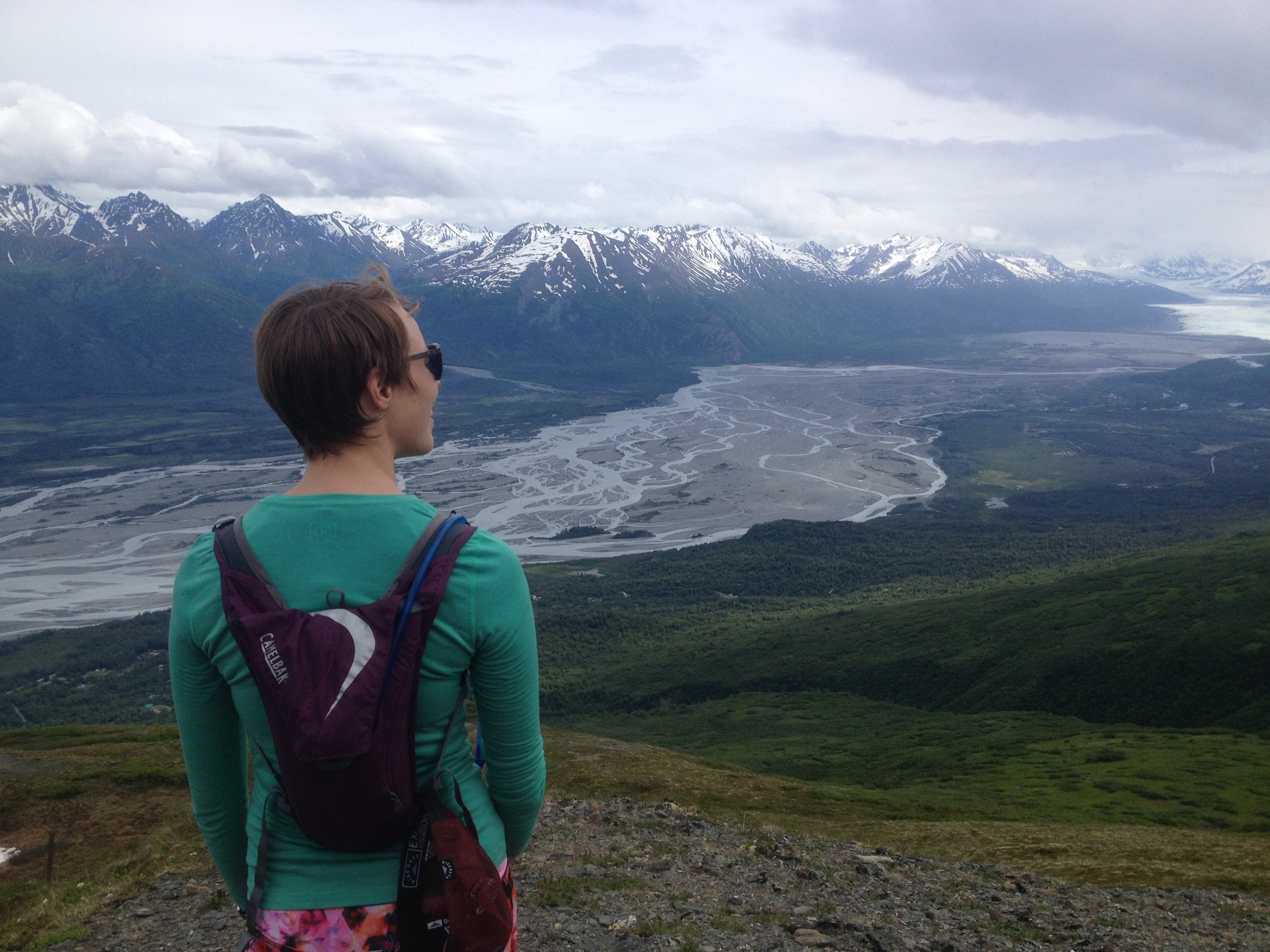 Day hiking in Alaska