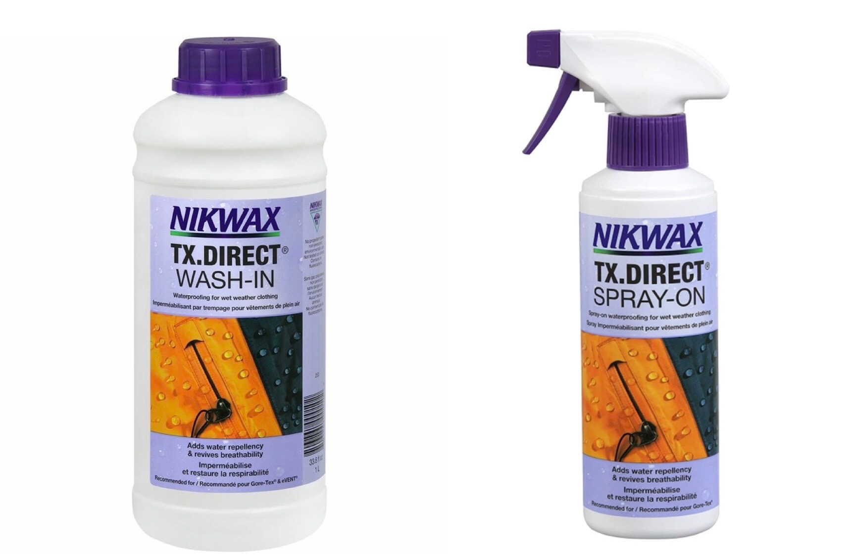 Nikwax Wash In and Spray On