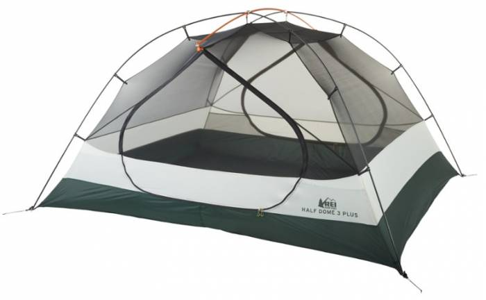 REI Half Dome Three Plus - Camping and Backpacking Tent