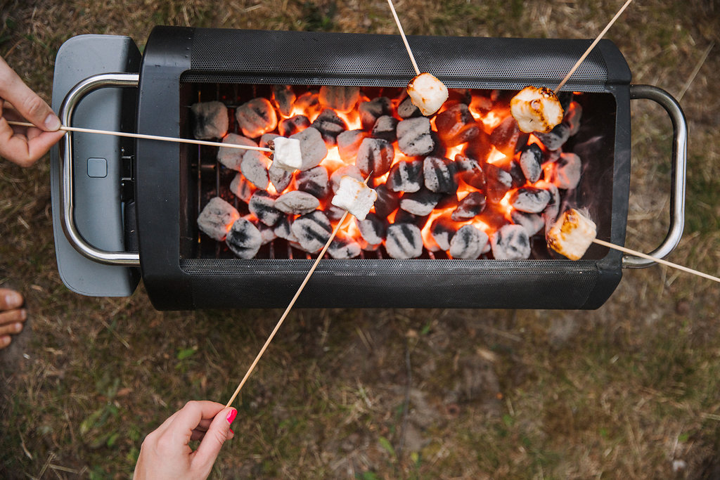 Roasting Marshmallows over the BioLite FirePit