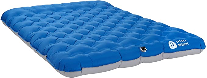 The Sierra Designs Air Bed is a great budget camping mattress