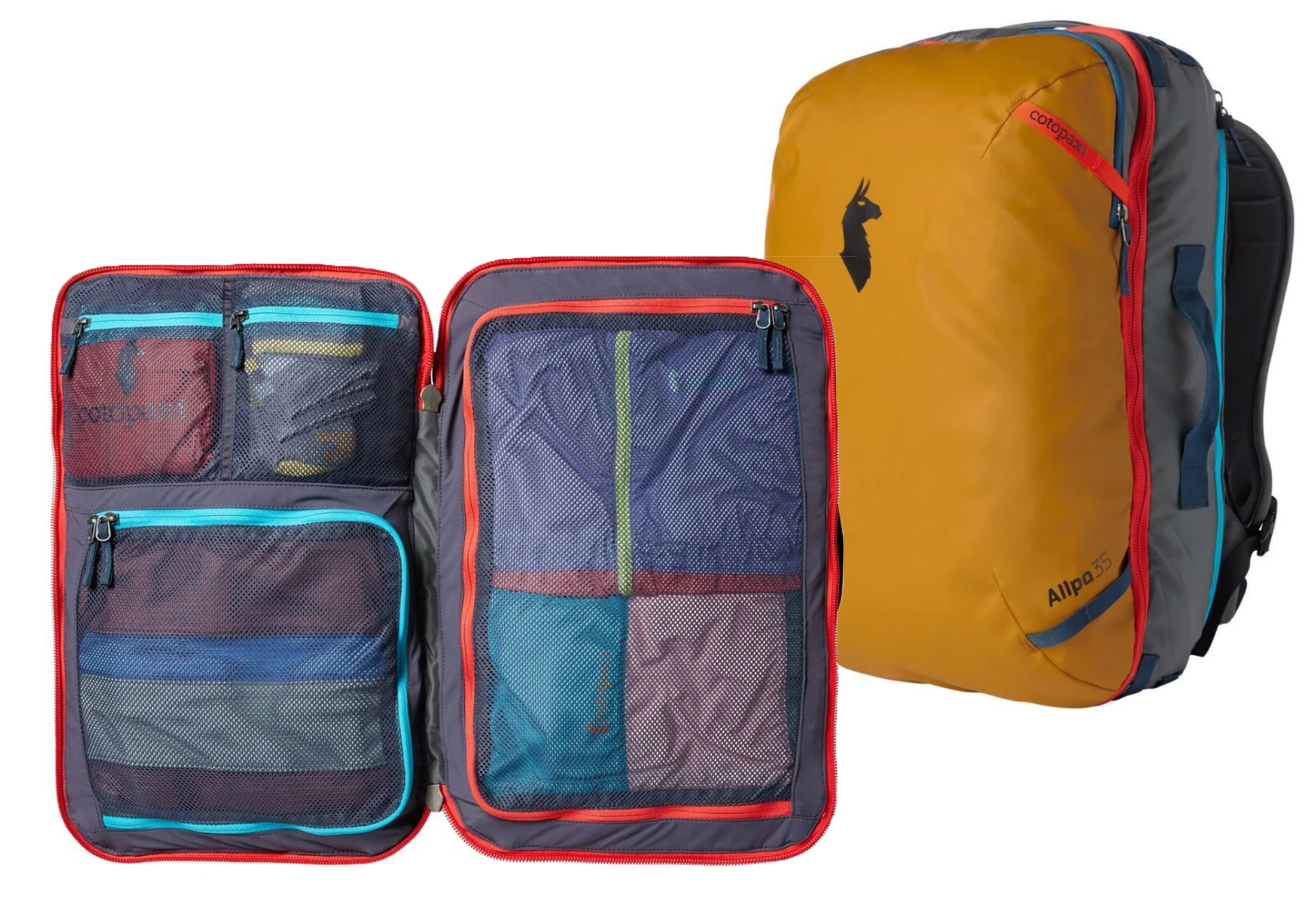 cotopaxi 35L travel pack