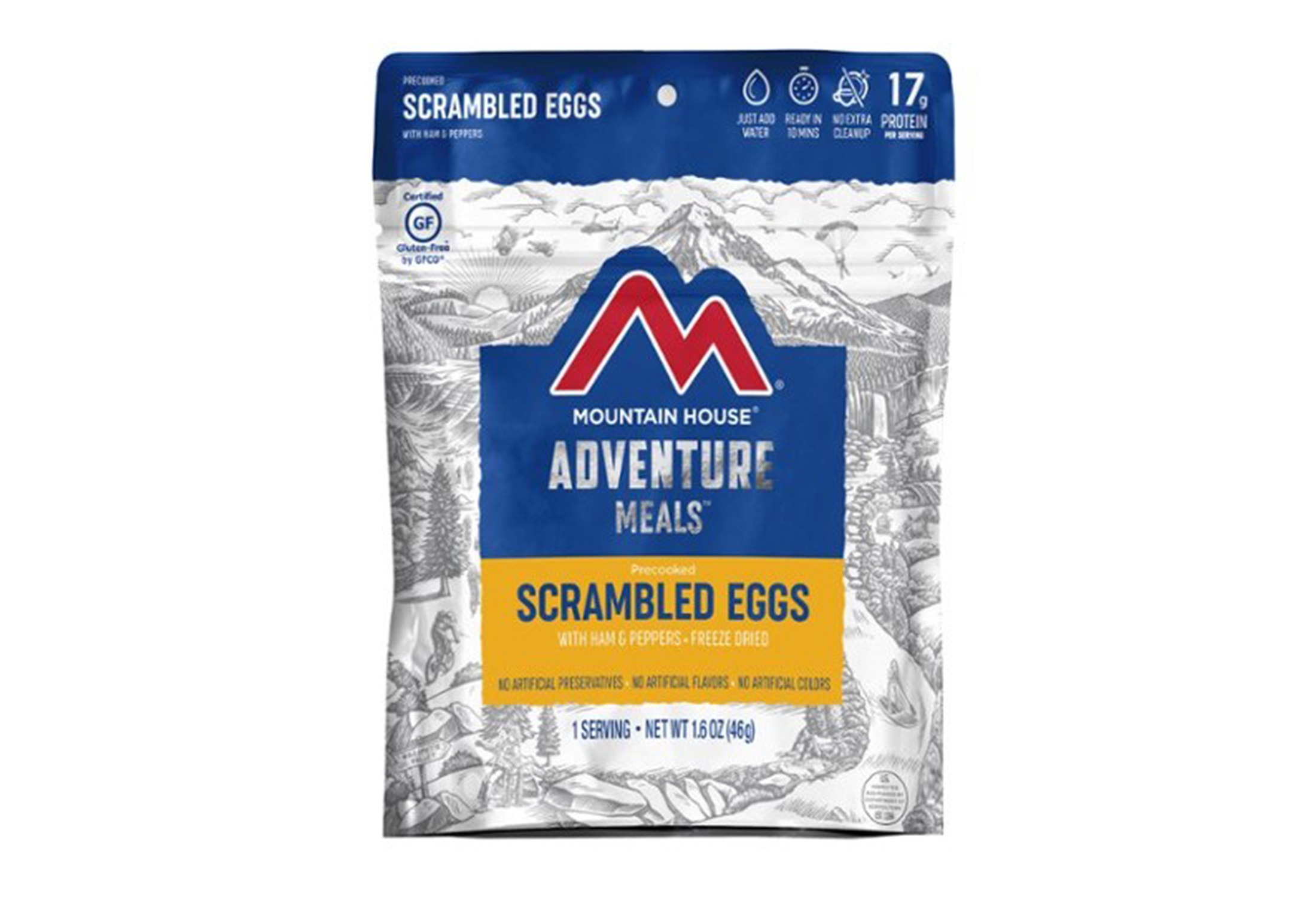 mountain house scrambled eggs meal
