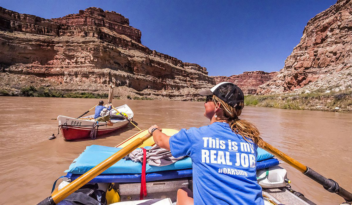 River rafting guide