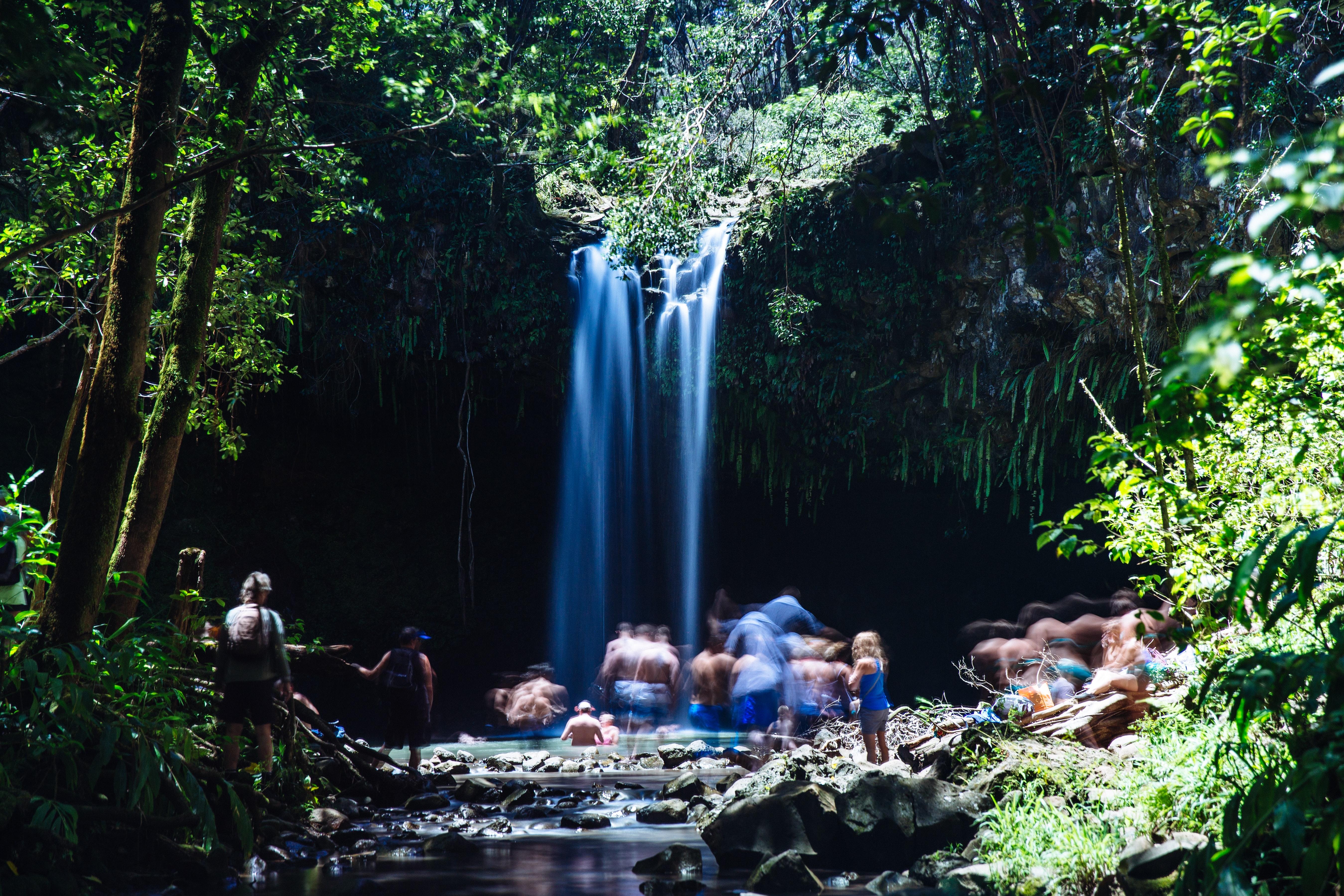 Twin Falls, North Shore Maui