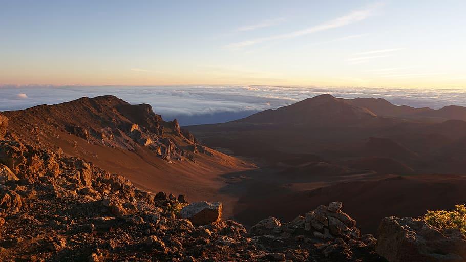 Maui volcano hike