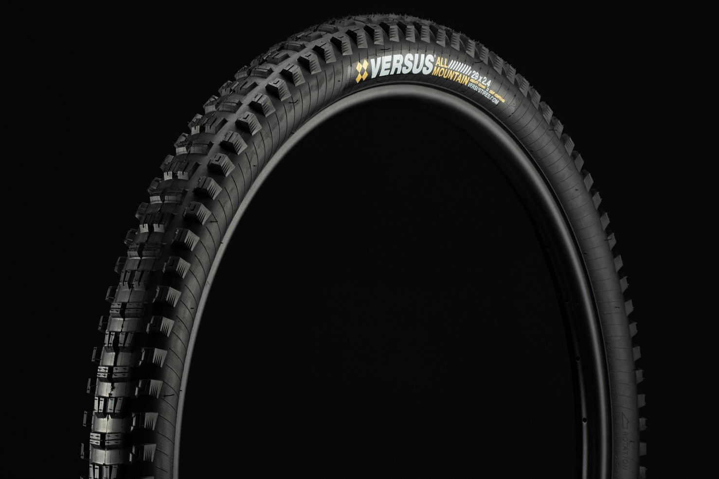 Versus mountain bike tires