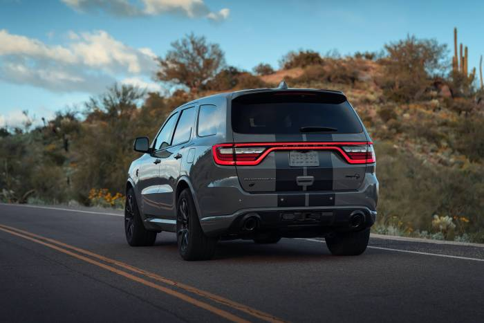 rear view durango srt hellcat